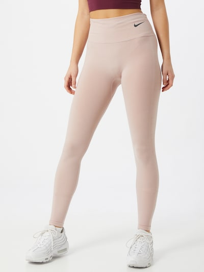 NIKE Športové nohavice 'Epic Luxe Run Division' - ružová, Model/-ka