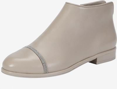 Ekonika Ankle Boots mit glitzerndem Zierband in sand / grau, Produktansicht