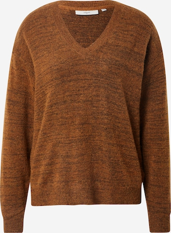 brūns minimum Džemperis