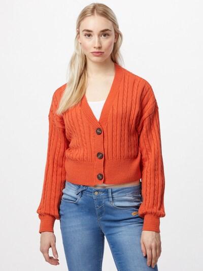 Cotton On Strickjacke in orange, Modelansicht