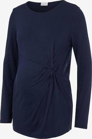 MAMALICIOUS Shirt 'Karely' in Blauw