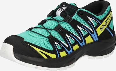 SALOMON Chaussures basses en bleu ciel / jaune / menthe / noir / blanc, Vue avec produit