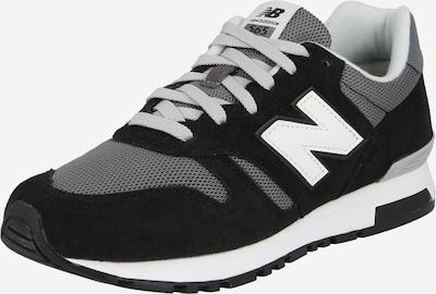 Sneaker bassa 'ML565-D' new balance di colore grigio / nero / bianco, Visualizzazione prodotti
