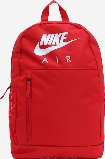 Nike Sportswear Rucksack in rot / weiß, Produktansicht
