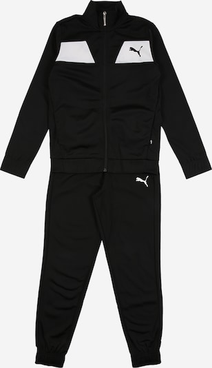 PUMA Tracksuit in black / white, Item view
