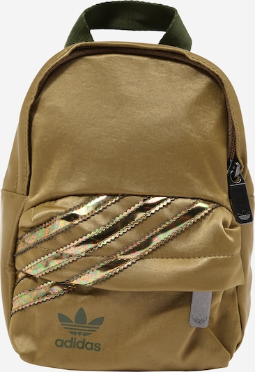ADIDAS ORIGINALS Rucksack in gold / tanne, Produktansicht
