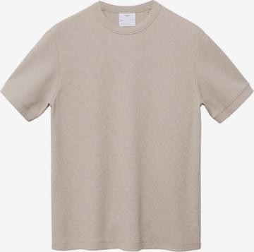 MANGO MAN T-Shirt 'JULIANT' in Beige