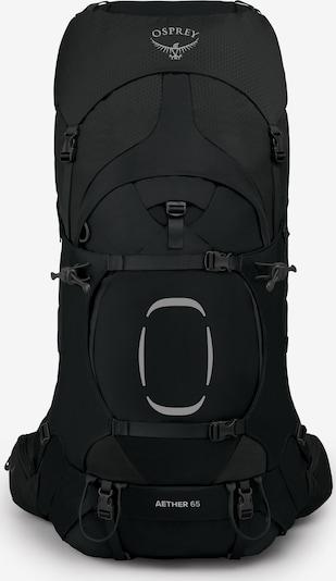 Osprey Rucksack 'Aether' in schwarz, Produktansicht