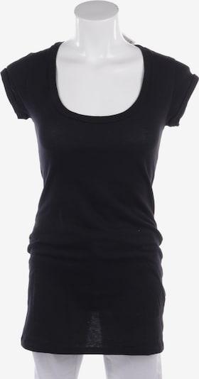 Velvet Top & Shirt in S in Black, Item view