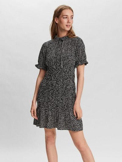 VERO MODA Kleid 'Dicthe' in schwarz / weiß, Modelansicht
