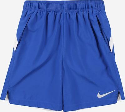 NIKE Sportbroek in de kleur Royal blue/koningsblauw / Wit, Productweergave