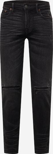 Jeans American Eagle di colore nero denim: Vista frontale
