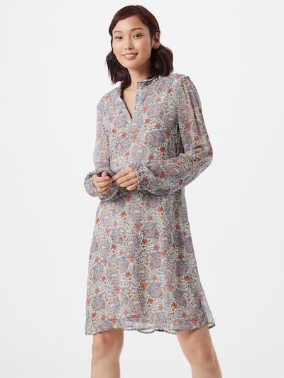 CINQUE Kleid 'DAJO' in beige / hellblau / hellrot, Modelansicht