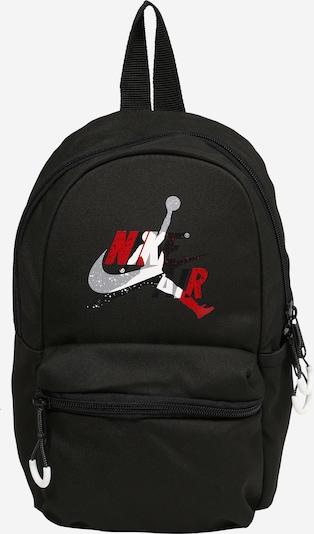 Jordan Reppu 'JAN' värissä harmaa / punainen / musta / valkoinen, Tuotenäkymä