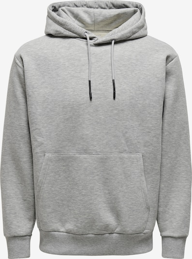Only & Sons Sweat-shirt 'CERES' en gris clair, Vue avec produit