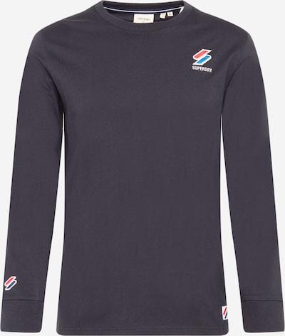 Superdry Shirt in marine / royalblau / feuerrot / weiß, Produktansicht