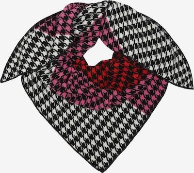 Zwillingsherz Masque en tissu en gris clair / rose / rouge / blanc cassé, Vue avec produit