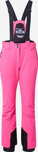 KILLTEC Pantalon outdoor en rose / noir, Vue avec produit