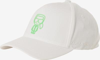 Karl Lagerfeld Cap in weiß, Produktansicht