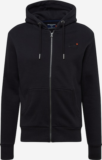 Superdry Sweatjacke  'OL CLASSIC ZIPHOOD NS' in marine, Produktansicht