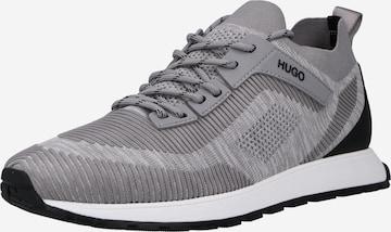 HUGO Platform trainers 'Icelin' in Grey