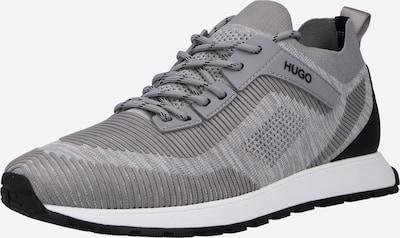 HUGO Sneaker 'Icelin' in hellgrau / graumeliert / schwarz, Produktansicht