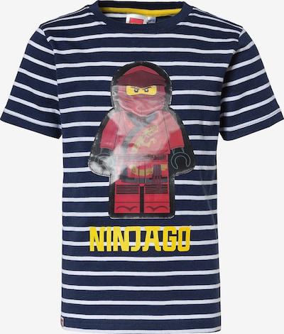 LEGO T-Shirt in blau / navy / gelb / rot / weiß, Produktansicht
