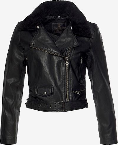 Herrlicher Übergangsjacke 'Bessie' in schwarz, Produktansicht