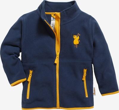 PLAYSHOES Flisová bunda 'DIE MAUS' - námornícka modrá / šafránová / čierna, Produkt