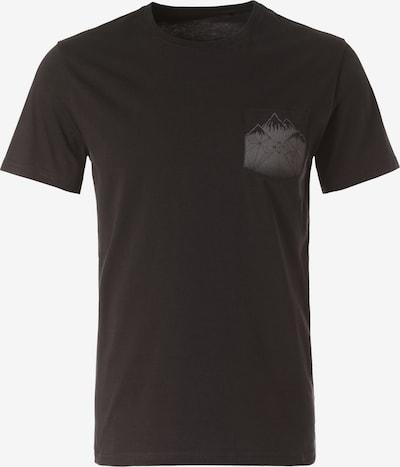 Lakeville Mountain T-Shirt 'Debo' in schwarz, Produktansicht