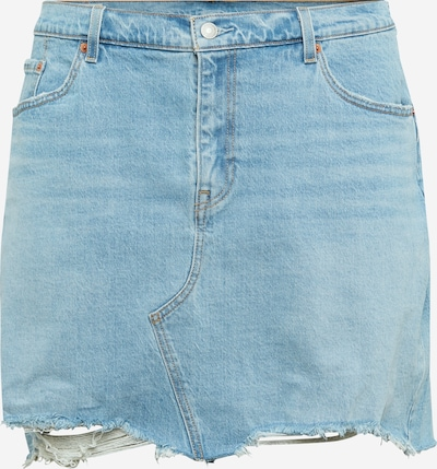 Levi's® Plus Skirt in blue denim, Item view