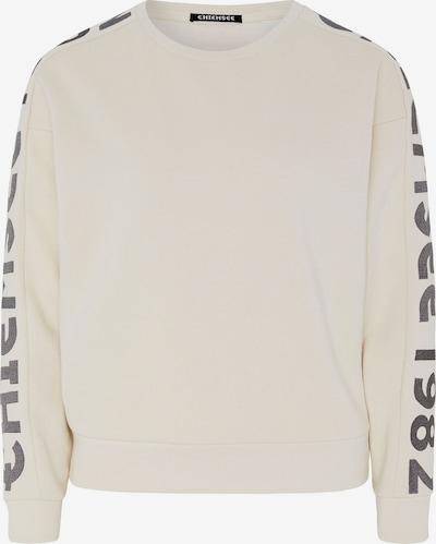 CHIEMSEE Sportsweatshirt in schwarz / weiß, Produktansicht