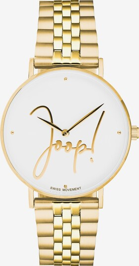 JOOP! Quarzuhr in gold, Produktansicht