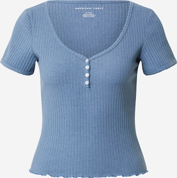 American Eagle Shirt in Blauw