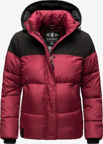 NAVAHOO Winter Jacket 'Sarafina' in Red