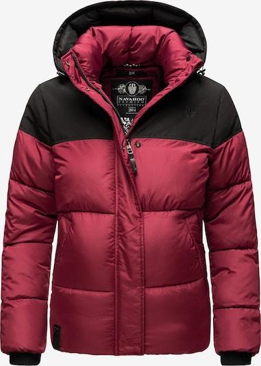 NAVAHOO Winterjacke ' Sarafina ' in rot / schwarz, Produktansicht