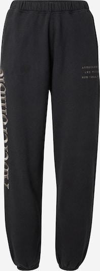 Abercrombie & Fitch Pantalon en noir, Vue avec produit