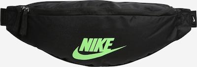 Borsetă 'Heritage' Nike Sportswear pe verde neon / negru, Vizualizare produs