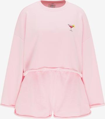 IZIA Hausanzug in Pink