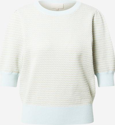 minus Pullover 'Karla' in pastellblau / weiß, Produktansicht