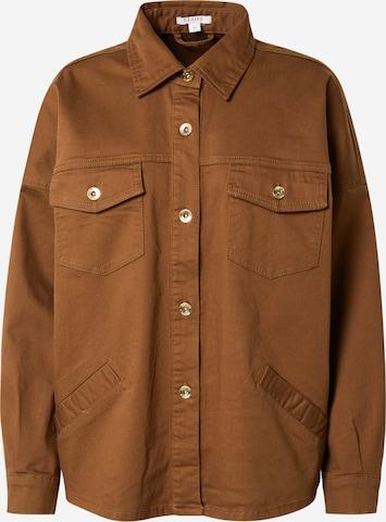 Claire Between-Season Jacket 'Estelle' in Brown
