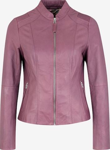 KRISS Lederjacke 'PAULINA' in Pink