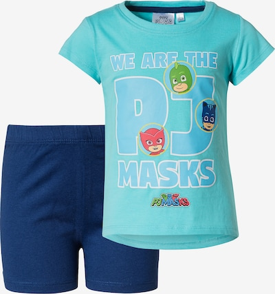 PJ Masks Schlafanzug in blau / hellblau, Produktansicht