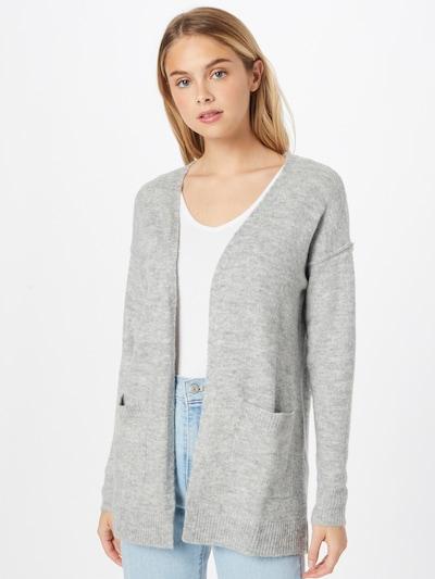 VERO MODA Kardigan 'LUCI' - šedý melír, Model/ka