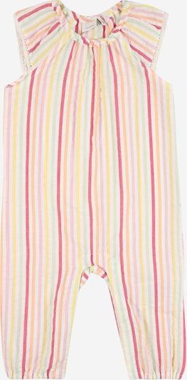 NAME IT Overall 'Hanna' in gelb / orange / pink / weiß, Produktansicht
