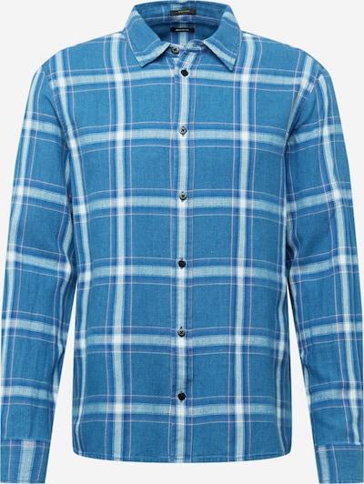 DENHAM Overhemd in de kleur Blauw / Wit, Productweergave