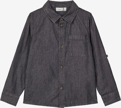 NAME IT Hemd in black denim, Produktansicht