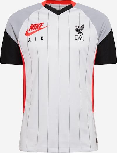 NIKE Sportiska stila krekls 'Liverpool FC 2021/2022 Stadium' pelēks / sarkans / melns / balts, Preces skats