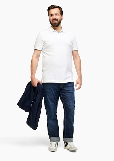 s.Oliver Shirt in weiß: Frontalansicht