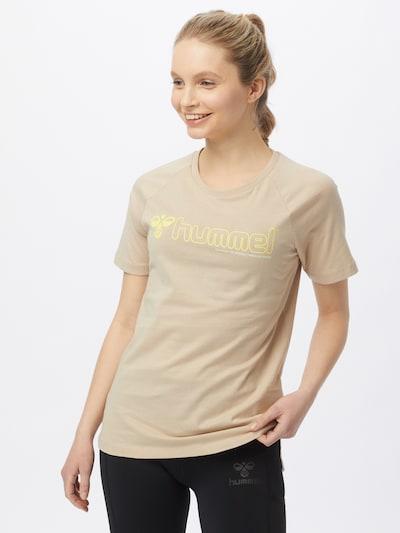 Hummel Sporta krekls 'Zenia', krāsa - nebalināts: Priekšējais skats